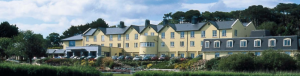 A view of the Arklow Bay Hotel